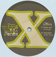 "Synthique & Bryan Jones ‎– That Dro / Funk You - Mint- 12"" Single USA 2006 - Chicago House"