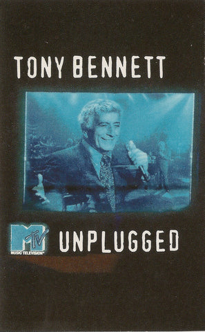 Tony Bennett ‎– MTV Unplugged - VG+ Cassette Tape 1994 CBS USA - Jazz / Vocal