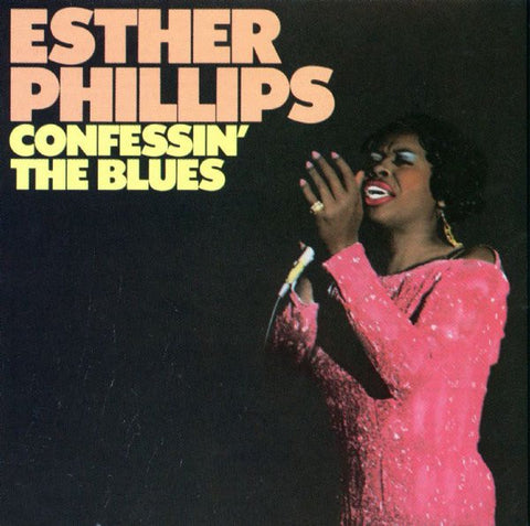 Esther Phillips ‎– Confessin' The Blues - Used Cassette 1976 Atlantic - Jazz