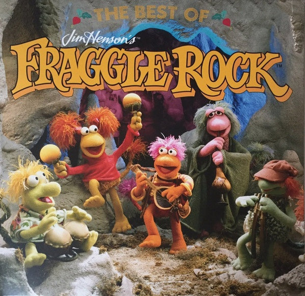 The Fraggles / Soundtrack ‎– The Best Of Jim Henson's Fraggle Rock - New Vinyl 2016 Enjoy The Ride Records Pressing on 'Yellow with Orange Splatter' Vinyl (Wembley Fraggle Variant) with Gatefold Jacket - 80's TV Series / Children's