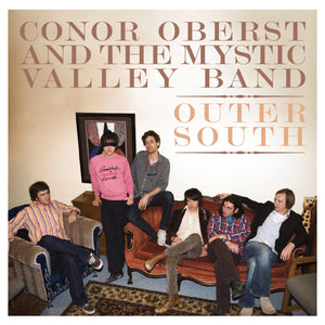 Conor Oberst And The Mystic Valley Band ‎– Outer South - New Vinyl 2009 Merge Records 180Gram 2 Lp Pressing with Gatefold Jacket and Download - Indie / Folk Rock