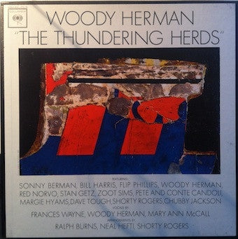 Woody Herman ‎– The Thundering Herds - VG+ 3 Lp Record Box 1961 Columbia USA Mono Vinyl - Jazz