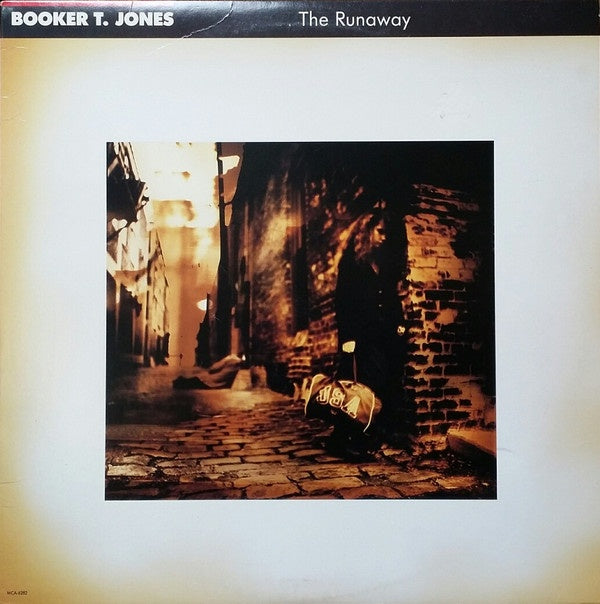 Booker T. Jones ‎– The Runaway - New Lp Record 1989 MCA USA Original Vinyl - Soul / Funk