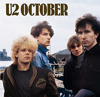 U2 ‎– October (1981) - New Vinyl Lp 2008 Mercury 180gram EU Reissue - Rock