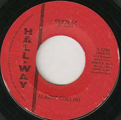 "Albert Collins - Defrost / Albert's Alley VG- 7"" Single 45RPM 1963 Hall-Way USA - Blues"