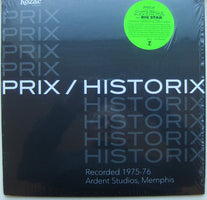 Prix ‎(Featuring Chris Bell & Alex Chilton of Big Star) – Historix - New Vinyl Record 2016 HoZac: Archival Series Compilation - Rock