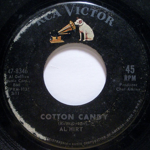 "Al Hirt ‎- Cotton Candy - VG+ 7"" Single 45 RPM 1964 USA - Jazz"