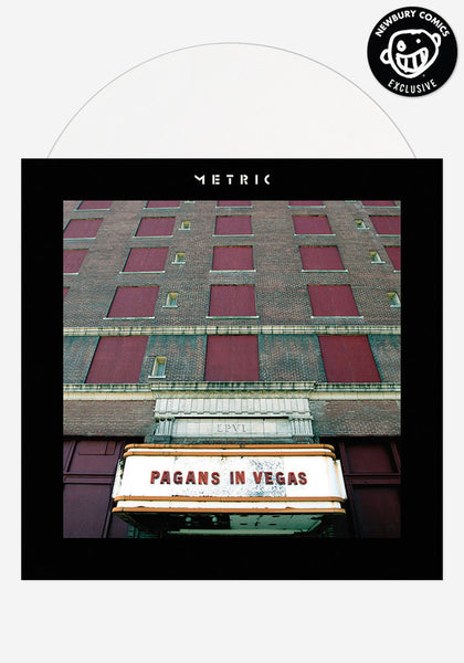 Metric ‎– Pagans In Vegas - New Vinyl Record 2015 USA 2 Lp Set NEWBURY COMICS Exclusive Limited Edition (White Vinyl 1000 Made) - Electronic / Synthpop / Indie