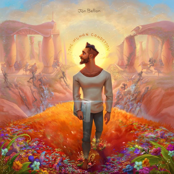 Jon Bellion - The Human Condition - New Vinyl 2 Lp Set 2016 Capitol Records Limited Edition On Clear Vinyl - Pop / Rock
