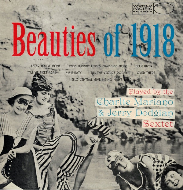 The Charlie Mariano & Jerry Dodgion Sextet ‎– Beauties Of 1918 (1958) - Mint- Lp Record 1983 World Pacific Japan Import Vinyl - Cool Jazz