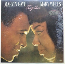 Marvin Gaye & Mary Wells - Together MINT- 1981 Motown Reissue LP - Funk / Soul