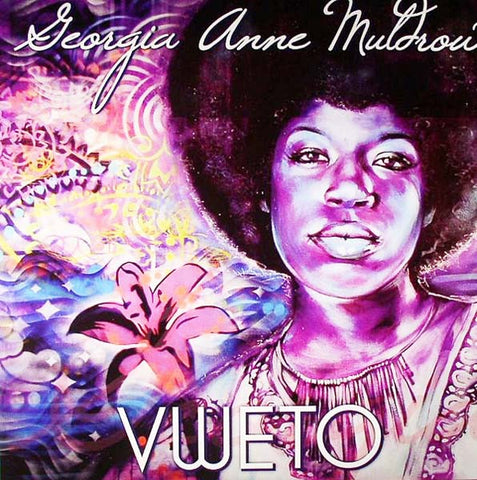 Georgia Anne Muldrow ‎– Vweto - New LP Record 2011 Mello Music USA Vinyl - Instrumental Hip Hop / Funk