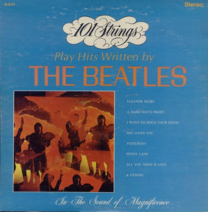 101 Strings ‎– Play Hits Written By The Beatles - Mint- Lp Record 1968 Stereo USA Original Vinyl -  Easy Listening / Jazz