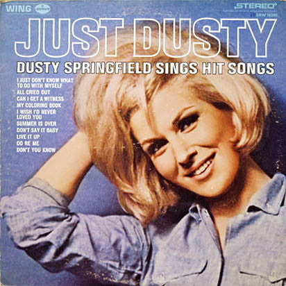 Dusty Springfield - Just Dusty - VG 1964 Stereo USA Original Press - Soul