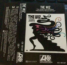 "Various - The Wiz (The Super Soul Musical ""Wonderful Wizard Of Oz"") - VG+ USA Cassette Tape - Soundtrack"