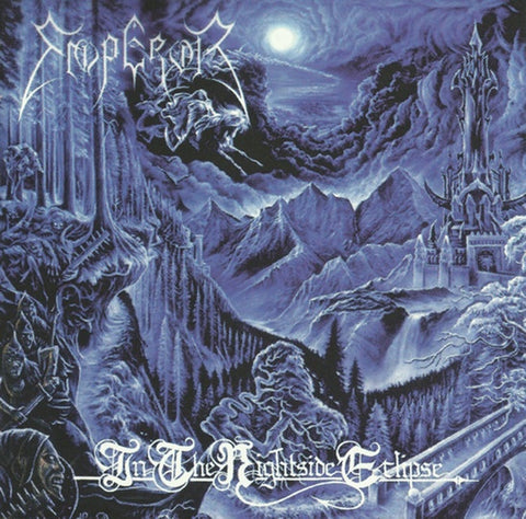Emperor - In The Nightside Eclipse (1994) - New Vinyl Lp 2018 Spinefarm Limited Edition Reissue on Blue Vinyl - Black Metal