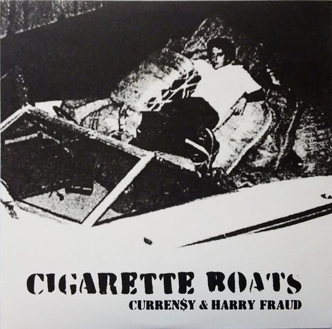 "Curren$y & Harry Fraud ‎– Cigarette Boats (2012) - New 12"" EP Record 2018 Jet Life USA Vinyl - Hip Hop"