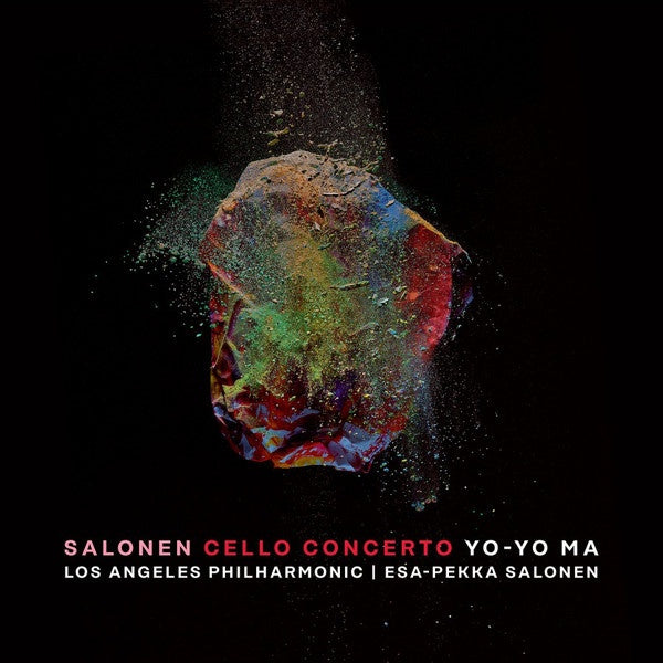 Yo-Yo Ma &  Los Angeles Philharmonic - Salonen: Cello Concerto - New LP Record 2019 Black 180 gram Vinyl - Classical