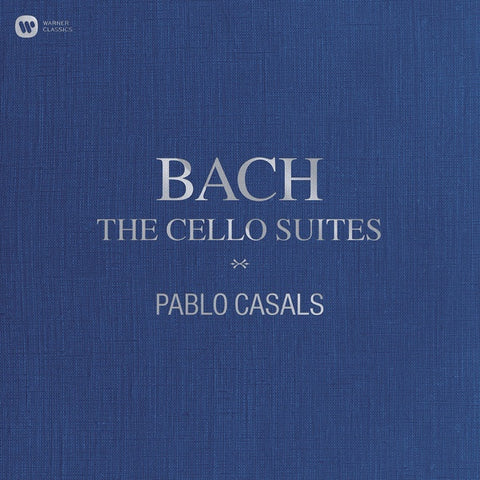 Bach / Pablo Casals ‎– The Cello Suites - New 3 LP Record 2018 Warner Classics Vinyl - Classical / Baroque