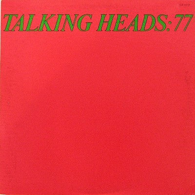 Talking Heads - Talking Heads: 77 - Mint- 1977 Stereo (Original Press WIth Matching Inner Sleeve) USA - Rock