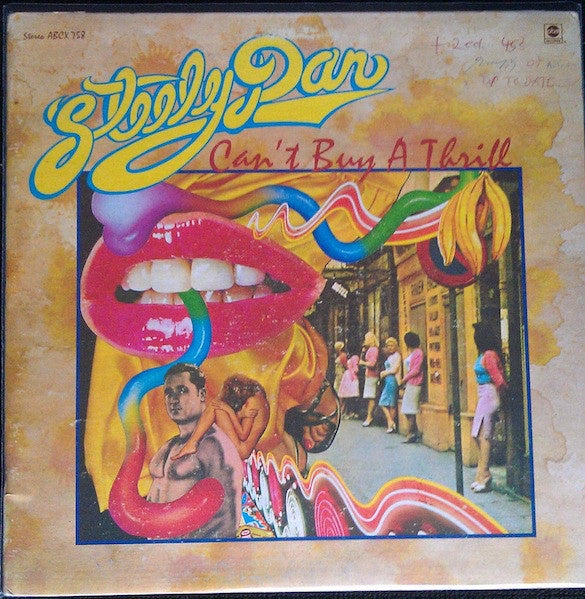 Steely Dan ‎– Can't Buy A Thrill - VG Lp Record 1972 ABC USA Vinyl Original - Classic Rock