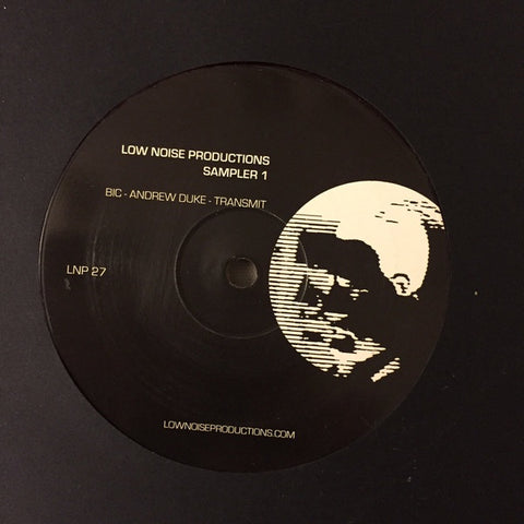 "Various ‎– Low Noise Productions: Sampler 1 - New 12"" EP 2016 Low Noise Limited Edition Colored Vinyl Compilation - Techno / House"