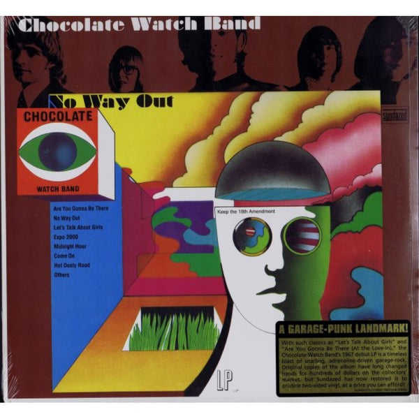 Chocolate Watch Band - No Way Out - New Vinyl Record 2014 Sundazed Music Reissue LP - Psych Rock / Garage Rock