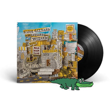 King Gizzard And The Lizard Wizard (With Mild High Club) - Sketches Of Brunswick East - New Vinyl 2017 ATO Records 180Gram Black Vinyl Pressing with Download - Psych / Kraut / Garage Rock