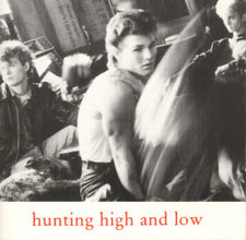 a-ha - Hunting High And Low - VG+ 1985 USA Cassette Tape - Rock/Pop