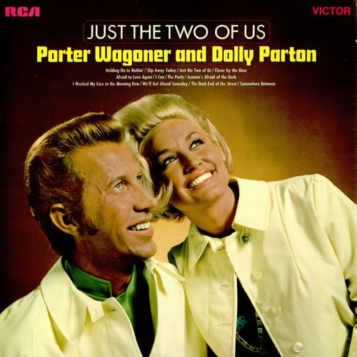 Porter Wagoner And Dolly Parton - Just The Two Of Us - VG 1968 Stereo USA - Country