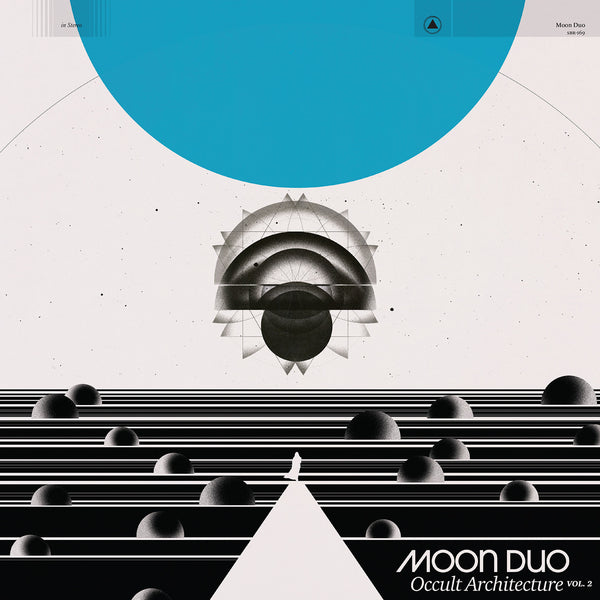 Moon Duo - Occult Architecture Vol. 2 - New Vinyl 2017 Sacred Bones Limited Edition 'Blue Smoke' Vinyl + Download - Psych Rock / Space Rock