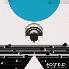 Moon Duo - Occult Architecture Vol. 2 - New Vinyl 2017 Sacred Bones Limited Edition Blue Smoky Vinyl - Psych Rock / Space Rock