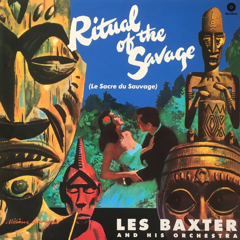 Les Baxter And His Orchestra ‎– Ritual Of The Savage (Le Sacre Du Sauvage) (1951) - New Lp Record 2018 WaxTime  Europe Import 180 gram Vinyl - Jazz / Afro-Cuban / Space-Age