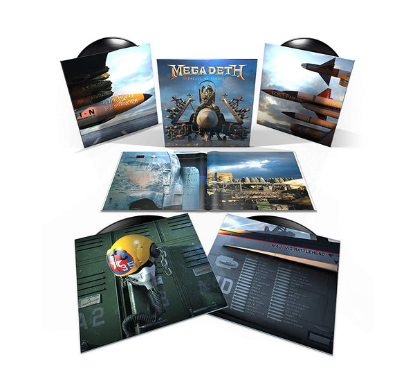 Megadeth - Warheads on Foreheads - New 4 Lp Box Set 2019 Capitol USA 180 gram Vinyl & Book - Heavy Metal  / Thrash