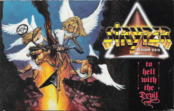 Stryper - To Hell With The Devil - VG+ 1986 USA Cassette Tape - Heavy Metal/Rock