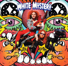 White Mystery - Outta Control - New Cassette 2016 Burger Records White Tape - Chicago, IL Garage / Punk