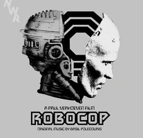 Basil Poledouris - Robocop Soundtrack - New Vinyl 2015 - 2 LP 180 gram Set With MP3 - (Limited Edition Silver Colored Vinyl. 300 Made) - 80's Soundtrack