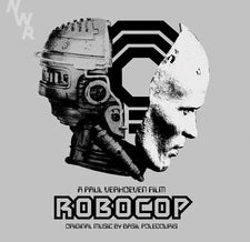 Basil Poledouris - Robocop Soundtrack - New Vinyl Record 2015 - 2 LP 180 gram Set With MP3 - (Limited Edition Silver Colored Vinyl. 300 Made) - Soundtrack