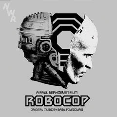 Basil Poledouris - Robocop Soundtrack - New Vinyl 2015 - 2 LP 180 gram Set With MP3 - (Limited Edition Silver Colored Vinyl. 300 Made) - Soundtrack