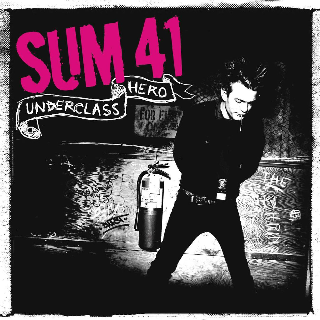 Sum 41 – Underclass Hero - New Vinyl 2 Lp 2019 SRC Limited Edition 1st  Pressing on 180gram Pink/Black Haze Colored Vinyl with Etched D-Side and
