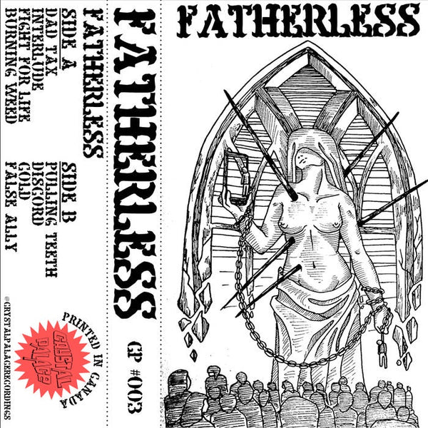 Fatherless - S/T - New Cassette Tape 2018 Crystal Palace 'Weed Green' Tape (Limited to 50!) - Chicago, IL Hardcore
