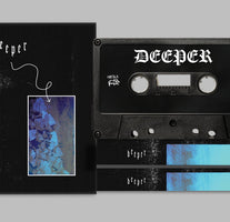 Deeper - Deeper - New Cassette 2018 Firetalk Limited Edition Black Tape - Indie Rock / New Wave / F'n AMAZING