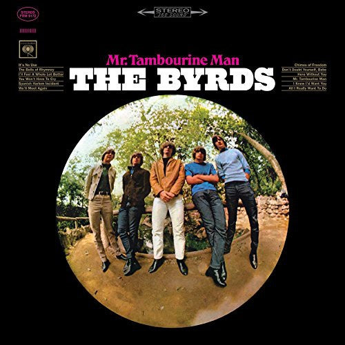 The Byrds ‎– Mr. Tambourine Man (1965) - New LP Record 2015 Friday Music USA Limited Edition 180gram Clear Vinyl Reissue - Pop / Folk Rock