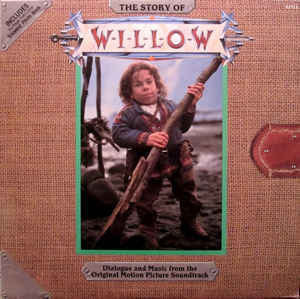 James Horner And The London Symphony Orchestra - The Story Of Willow - New Sealed 1988 USA (Original Press With Book) - Soundtrack/Dialogue