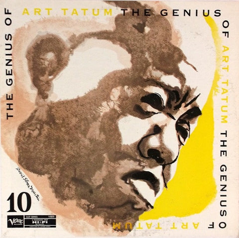 Art Tatum ‎– The Genius Of Art Tatum # 10 (1955) - VG+ LP Record 1961 Verve USA Mono Vinyl - Jazz