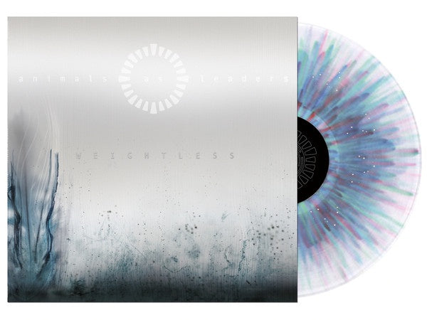 Animals As Leaders ‎– Weightless - New Vinyl Lp 2018 Prosthetic Reissue on Clear with Red & Blue Splatter Vinyl (Limited to 500!) - Prog Metal