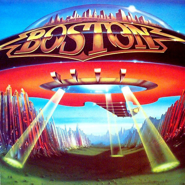 Boston ‎– Don't Look Back - VG+ Stereo 1978 Epic Original Press USA - Rock