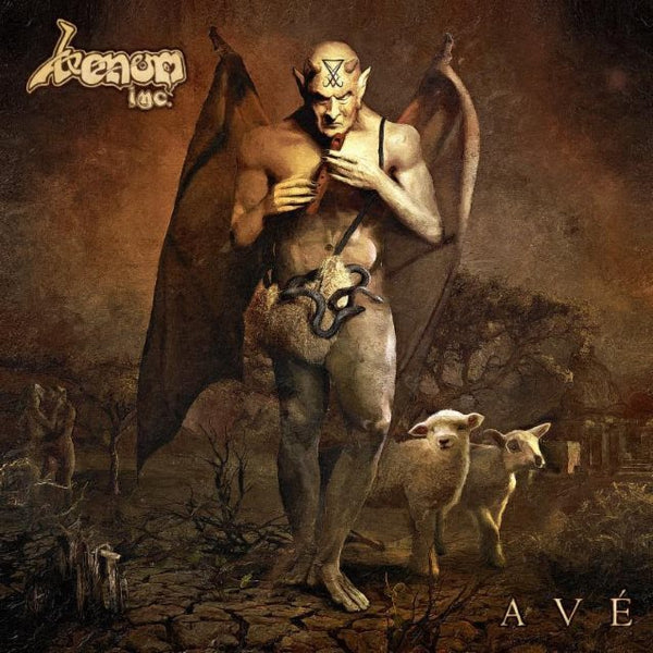 Venom Inc. ‎– Ave - New Vinyl 2017 Nuclear Blast 'Indie Exclusive' Gatefold 2-LP Pressing on Brown with White Splatter Vinyl (Limited to 300!) - Black Metal