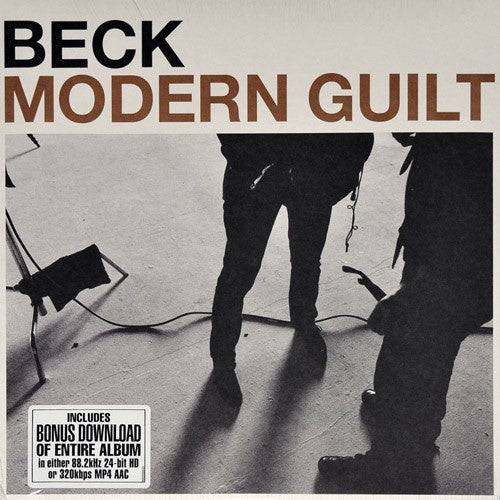 Beck ‎– Modern Guilt - New Vinyl Record 2017 DGC / Geffen Reissue with Download (Produced by Danger Mouse!) - Alt / Folk Rock