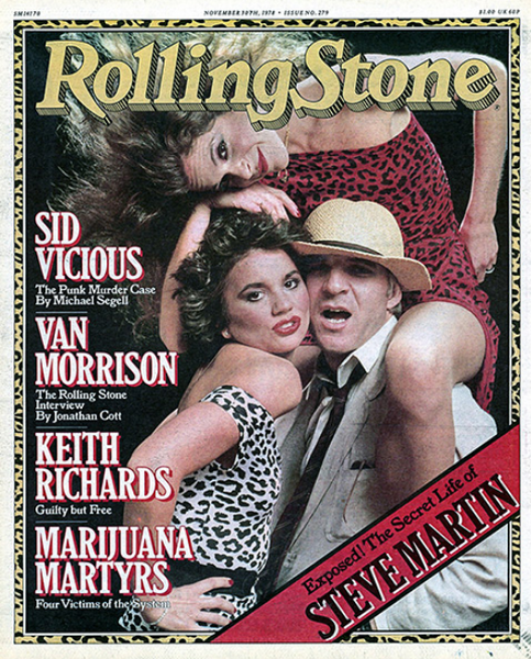 Rolling Stone Magazine - Issue No. 279 - Steve Martin